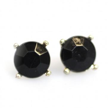 Atida Exclusive Black Jewel Studs