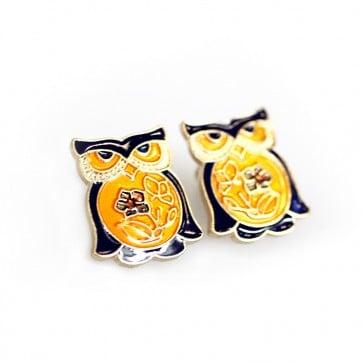 Atida Exclusive Jewellery Owl Earrings