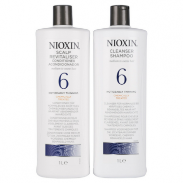 Nioxin System 6 Duo 1 litre