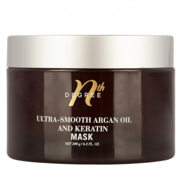Nth Degree Ultra-Smooth Argan Oil and Keratin Mask 200g