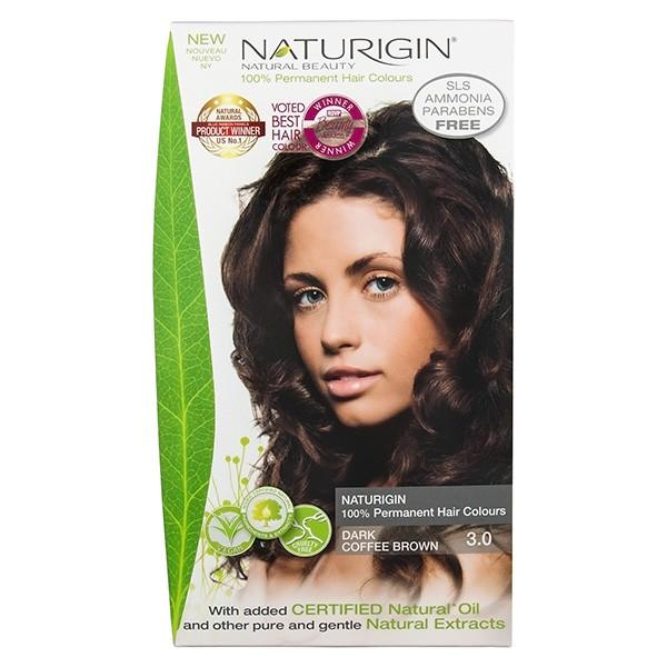 Buy Naturigin Organic Hair Colour 3 0 Dark Coffee Brown
