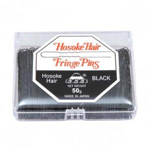 555 Bobby Pins 2 inch Fringe Pins Black 50g