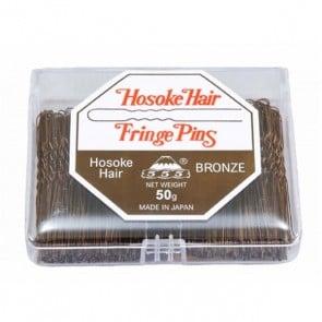 555 Bobby Pins 2 inch Fringe Pins Bronze 50g