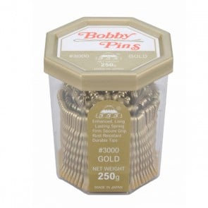 555 Bobby Pins 2inch Gold 250g