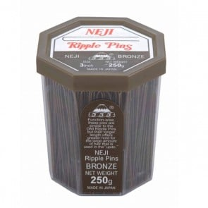 555 Ripple Pins 3 inch Bronze 250g