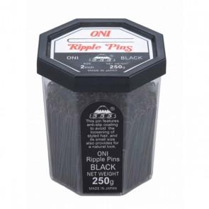 555 Ripple Pins 3 inch Black 250g
