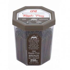 555 Ripple Pins 2 inch Bronze 250g