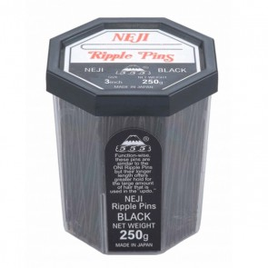 555 Roller Pins 3 inch Black 200g
