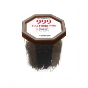 "999 Fine Fringe Pins 2"" Bronze 120g"