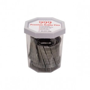 999 Premium Bobby Pins 2inch Silver 250g