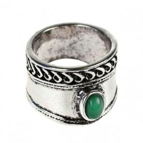 Atida Emerald Gypsy Ring