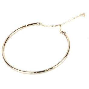 Atida Golden Circlet Collar
