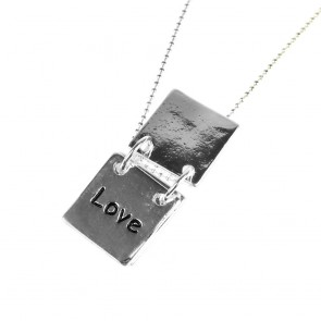 Atida Exclusive Hope Love Wish Plated Necklace