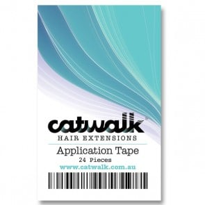 Catwalk Hair Extensions Application Tape 24 pieces