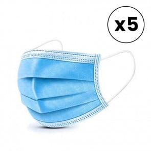 Disposable Surgical Face Mask 6 pack