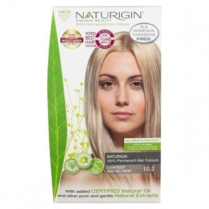 Naturigin Organic Hair Colour 10.2 Lightest Blonde Ash