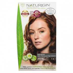 Naturigin Organic Hair Colour 7.4 Medium Blonde Red