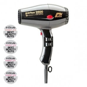 Parlux 3500 Super Compact Ceramic & Ionic Dryer 2000W - Black