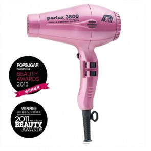 Parlux 3800 Eco Friendly Ceramic & Ionic Dryer 2100W - Pink
