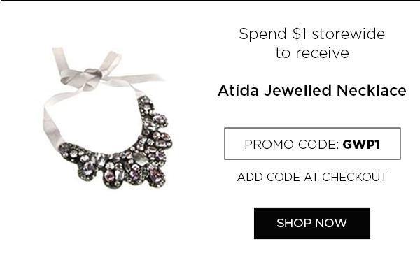 Atida Jewelled Necklace