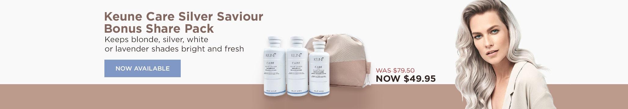 Keune Care Silver Saviour Bonus Share Pack