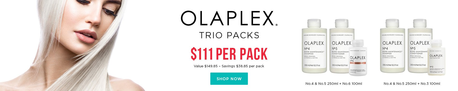 Olaplex Trio Packs