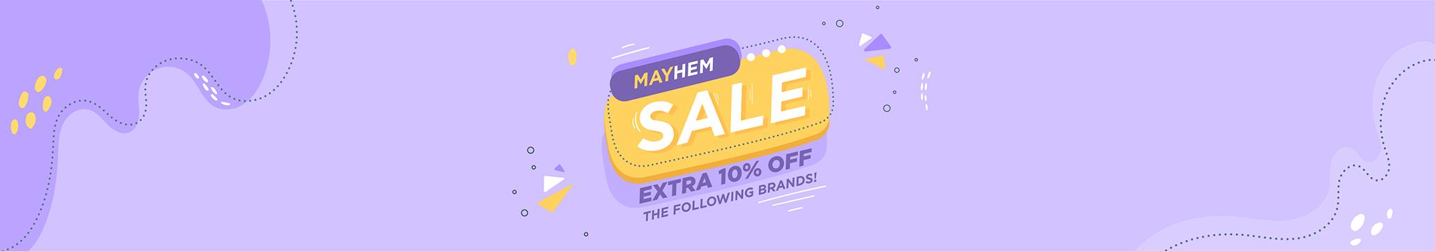 Mayhem Sale